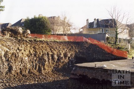 Limestone Quarry, Combe Park, Weston, January 2001