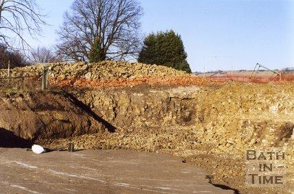 Limestone Quarry, Combe Park, Weston, January 2001