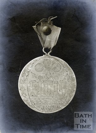 Medal presented to Ralph Allen by the Duke of Cumberland, Presented 4th December 1752, pre 1934