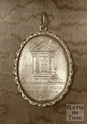 Bath Volunteer Association Silver Presentation Medal, 1780