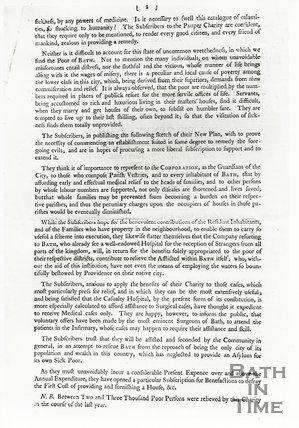 Bath City Infirmary, page 2 April 1792