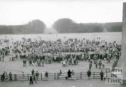 The Beaufort Hunt at Badminton Park, 1996