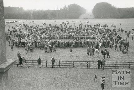 The Beaufort Hunt at Badminton Park, 1996