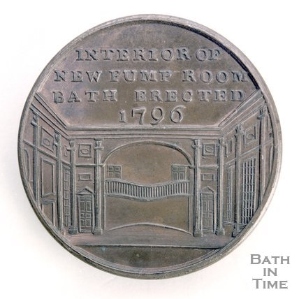 Bath token of the Interior of the New Pump Room, erected 1796, 1797/8