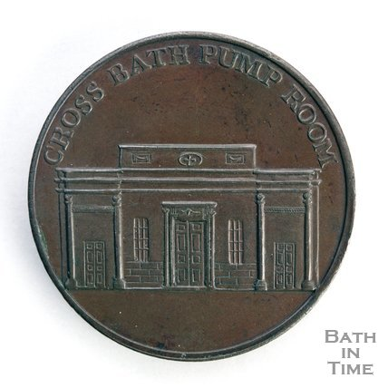 Bath token of the Cross Bath Pump Room, 1797/8