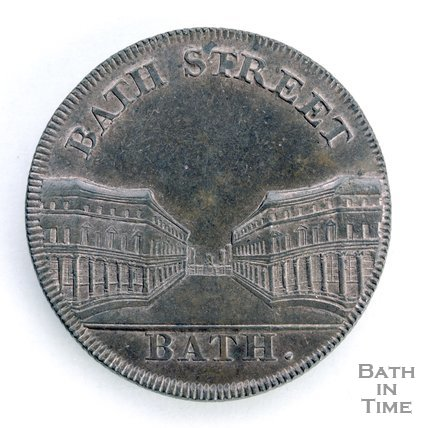 Bath token of Bath Street, 1797/8