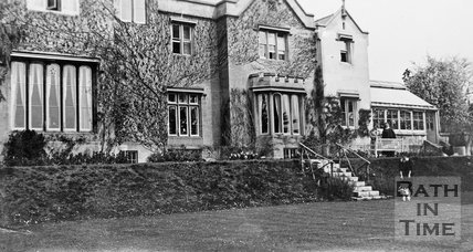The rear of the Priory, Weston Lane, Bath, c.1910