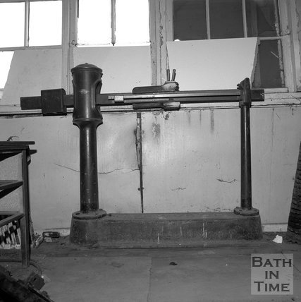 The weighing machine possibly at Sawclose, Bath, c.1990
