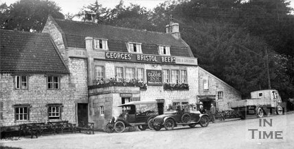 The Globe Inn, near Corston, Bath, c.1920s