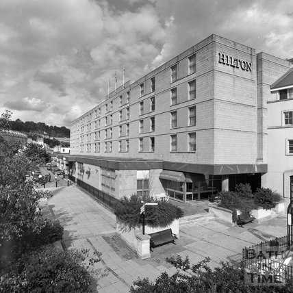 The Hilton Hotel, Walcot Street, Bath, c.1990