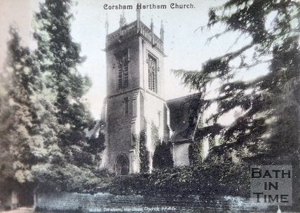 The Private Chapel at Hartham, near Corsham, Wiltshire, c.1920s