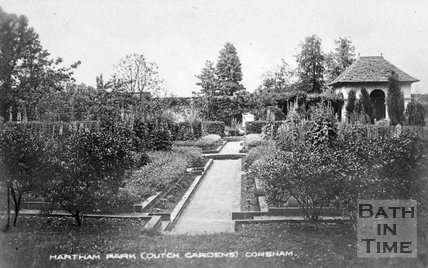 The Dutch gardens at Hartham Park, Wiltshire, c.1910s