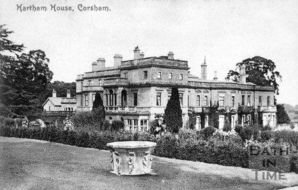 Hartham House, Wiltshire, c.1910