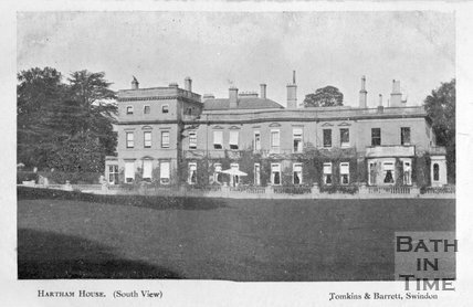 South view of Hartham House, Wiltshire, c.1910s