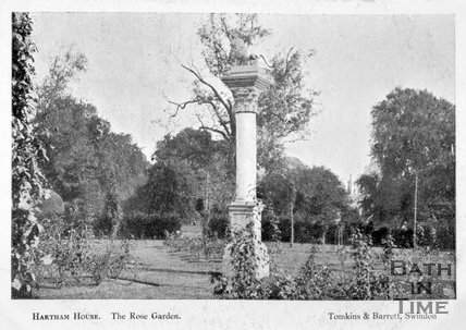 The Rose Garden, Hartham House, Wiltshire, c.1910s