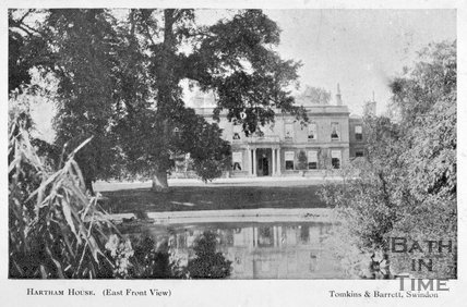 The East Front of Hartham Park, c.1910