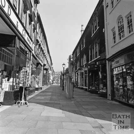 Old Bond Street, Bath, c.1977