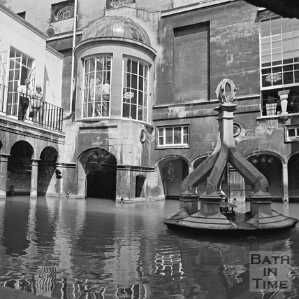 The Kings Bath, Bath, c.1977