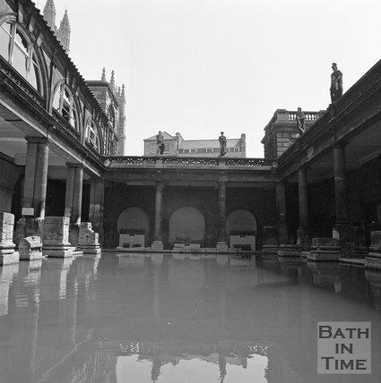 The Roman Baths, Bath, c.1977