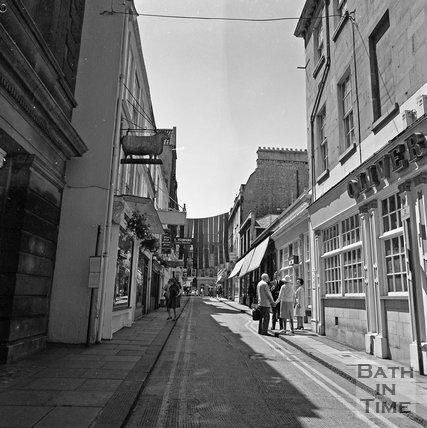 Green Street, Bath, c.1977