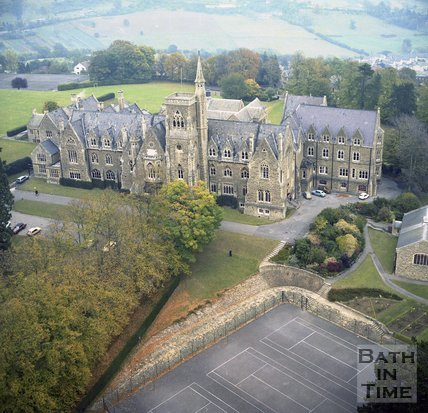 Aerial View of the Royal High School, Lansdown, Bath, c.1980?