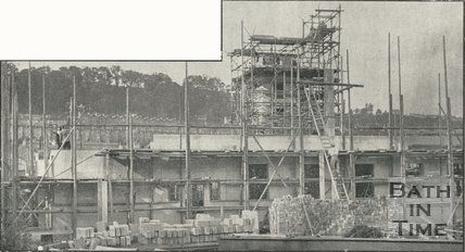 Bath Fire Station, Bathwick Street, nearing completion, September 1938