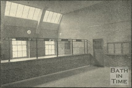 The Men's Waiting Room, Bath Employment Exchange, James Street West, Bath, October 1938