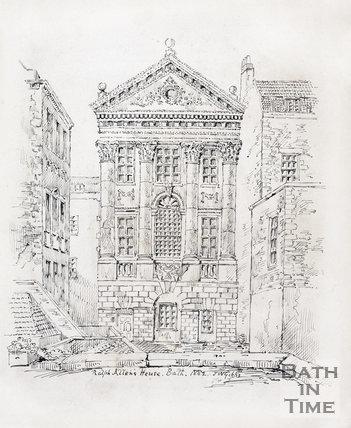 Ralph Allen's Town House, Bath 1882