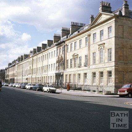 Great Pulteney Street, Bath, c.1975