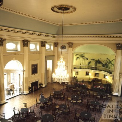 Inside the Pump Room, Bath, c.1975 - 1980