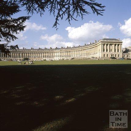 The Royal Crescent, Bath, c.1975 - 1980