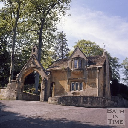 The Cloisters Lodge, Perrymead, Bath, c.1975