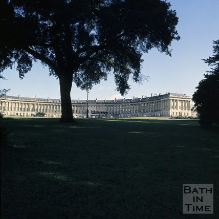 The Royal Crescent, Bath, c.1975 - 1980