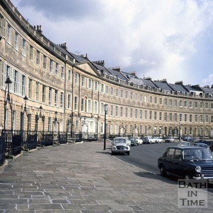 Lansdown Crescent, Bath, c.1980