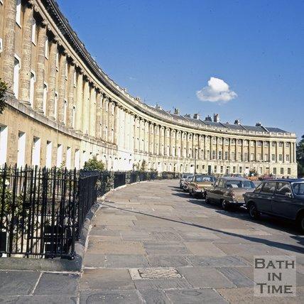 The Royal Crescent, Bath, c.1978