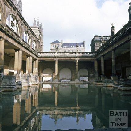 The Roman Baths, Bath, c.1975