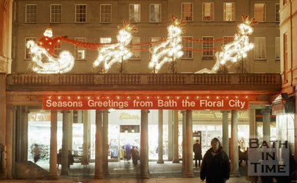 Christmas Decorations from Bath the Floral City, c.1987