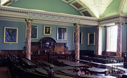 The Council Chamber, Guildhall, Bath, c.1980