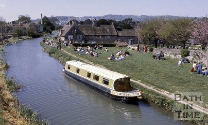 The George Inn at Bathampton, near Bath, c.1980