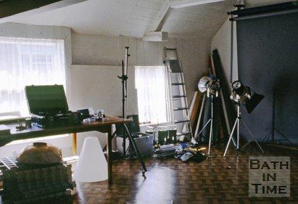 The Photographer Mandy Reynolds's studio, c.1980