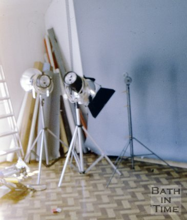 The Photographer Mandy Reynolds's studio, c.1980