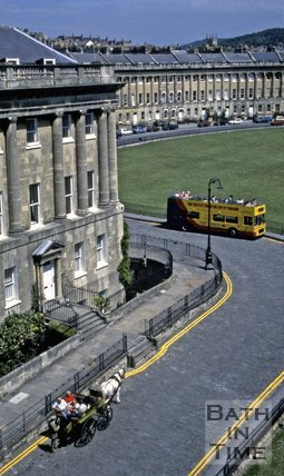 View of the Royal Crescent, Bath, c.1980