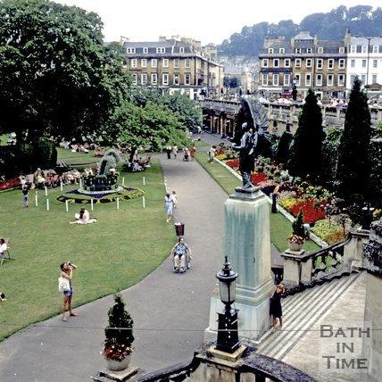 Parade Gardens, Bath, c.1981