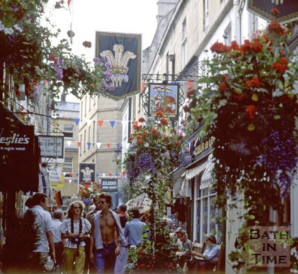 Northumberland Place, Bath, 1981