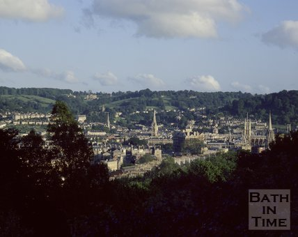 View of Bath from Camden, c.1980s