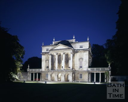 The Holburne Museum at night, Bath, c.1975 - 1980