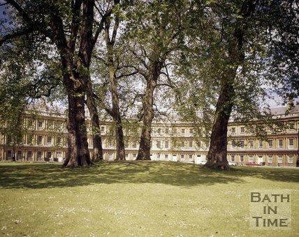 The Circus, Bath, c.1975