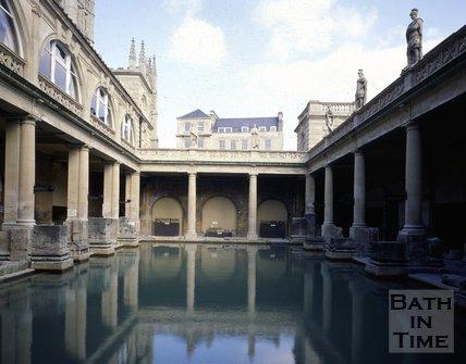 The Roman Baths, c.1980