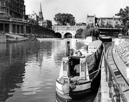 A Narrowbaot on the River Avon, Bath, c.1973