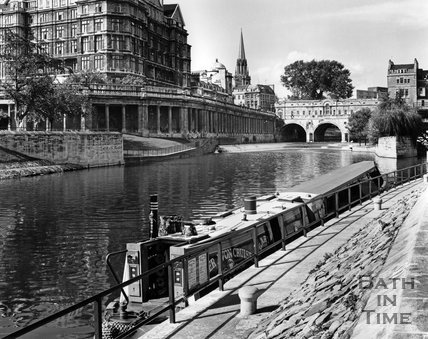 A Narrowbaot on the River Avon, Bath, c.1973
